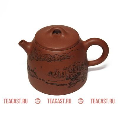 Чайник из глины #170013 (Кэ Хуа) - фото 5045