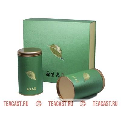 Подарочная упаковка зеленая #330056 - фото 5924