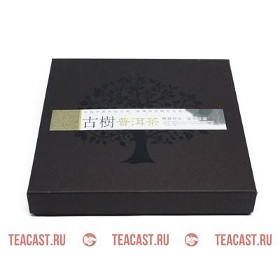Подарочная упаковка под пуэр коричневая  #330059 - фото 5963