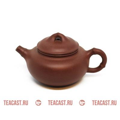 """Чайник из глины #170008 """"Чжу Цзе"""" - фото 6067"""