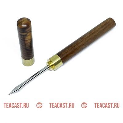 Нож - шило для разлома пуэра с острым наконечником #310039 - фото 6560