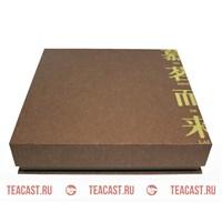 Подарочная упаковка под пуэр #330063 (коричневая коробка Муй Минь)
